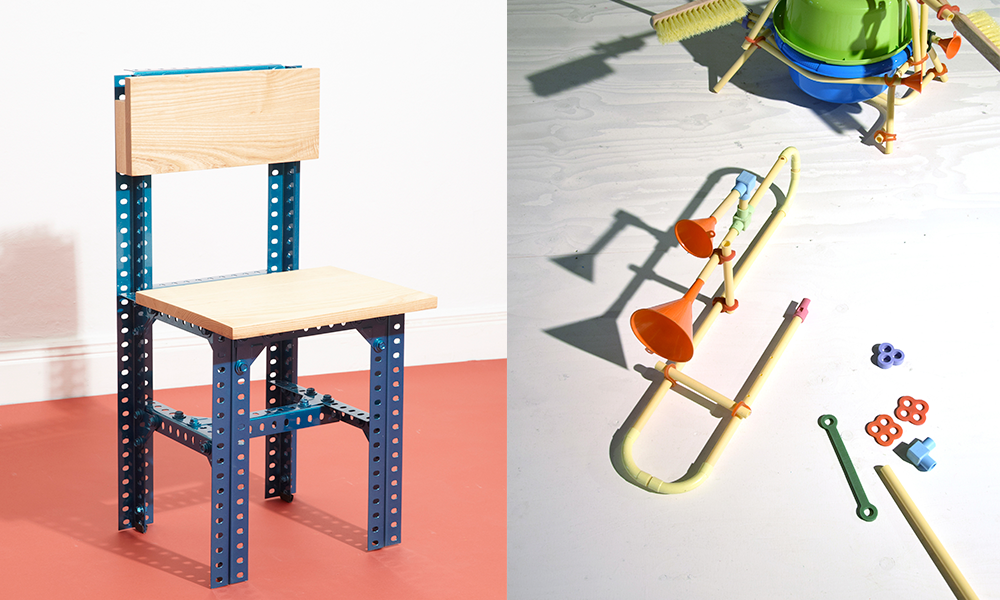 Creative toys Hackjes, from David van der Stel and Stelétournement collection chair from Jorge Penedés